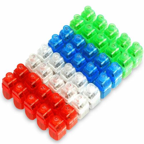 Novelty Place LED Party Finger Lights - Light Up Toys for Kids Adults 40 Pack