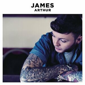 JAMES ARTHUR James Arthur 13-trk CD NEW/UNPLAYED X Factor Emeli Sande
