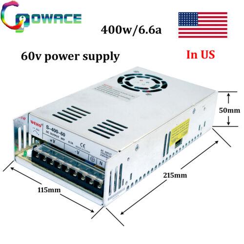 400W 60V Power Supply 60V 6.6A CNC Switch Power Supply(1PC)
