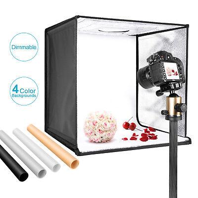 "Neewer Photo Studio Light Box 20"" Shooting Light Tent Kit with 4 Color Backdrops"