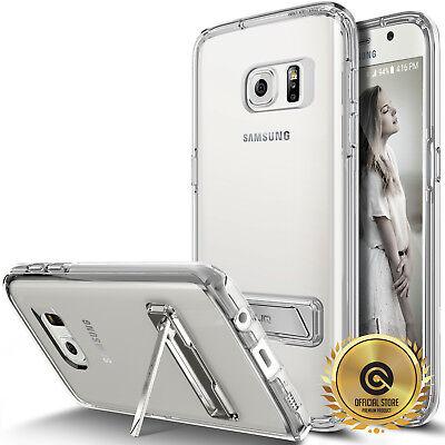 (OBLIQ® Galaxy S7 & S7 Edge CLEAR Case [NAKED SHIELD] Metal-Kickstand Skin cases)