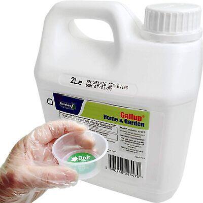 Elixir Gardens Barclay Gallup Glyphosate Weed killer treats upto 3332 sq/m