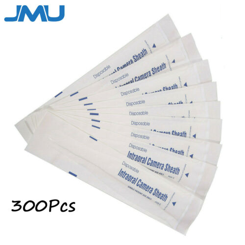 300 pcs Dental Intraoral Camera Sleeve Sheath Disposable Cover US STOCK