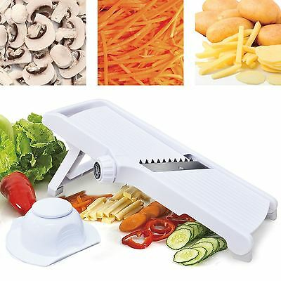 Mandolin Slicer Professional Julienne Cutter Chopper Fruit Vegetable Veg Peeler