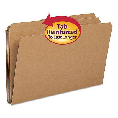 Smead Kraft File Folders 13 Cut Reinforced Top Tab Legal Kraft 100box 15734