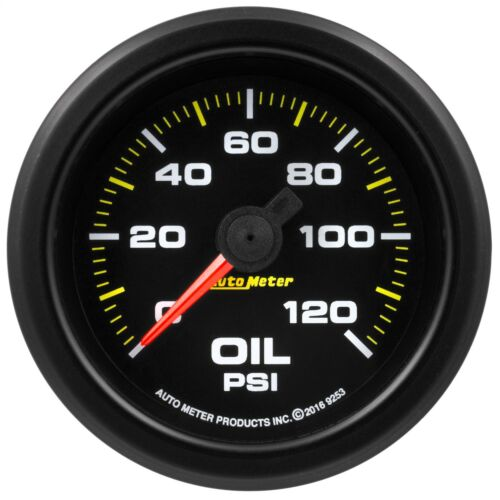 AutoMeter 9253 Extreme Environment Oil Pressure Gauge
