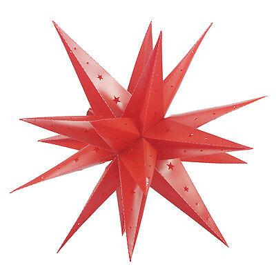 60CM Außenstern 3D außen Stern Adventsstern Leuchtstern Weihnachtsstern Advent