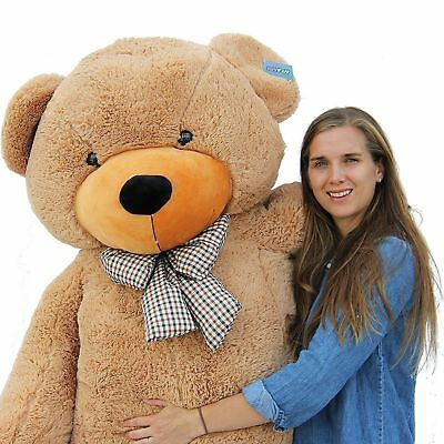 "Joyfay® 78""  6.5ft Giant Teddy Bear 200cm Brown Huge Plush Toy  Birthday Gift"