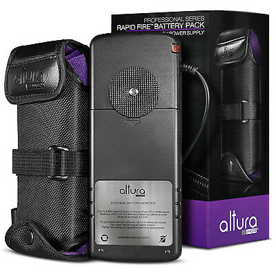 Rapid Fire™ Flash Battery Pack External Power for Canon Yongnuo by Altura Photo®