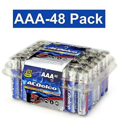 Brand New ACDelco AAA Super Alkaline Batteries in Recloseabl