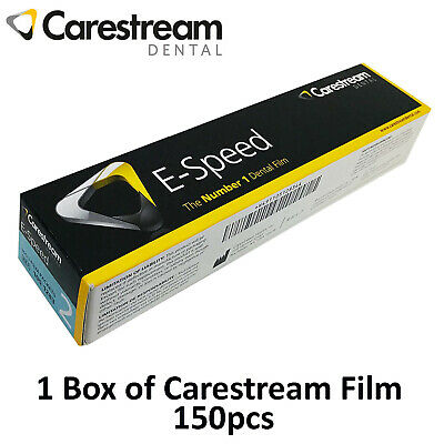 Dental Kodak Film Carestream E-speed Intraoral 2 Periapical X-ray 150pcs Box
