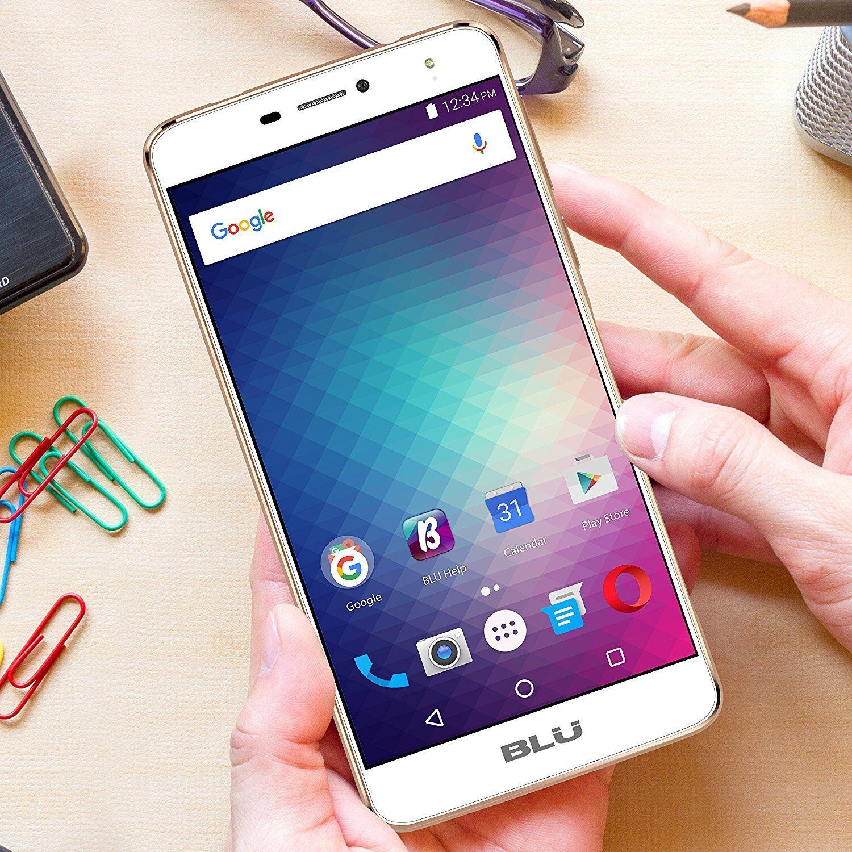 $129.95 - BLU Studio XL 2 LTE (16GB) 6.0 HD, 4G 13MP Dual SIM Android UNLOCKED S0270U GOLD