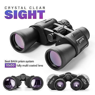 Premium 10 x 50 Binoculars With BK4 Prism, Fully Multi-Coated Lens, Waterproof