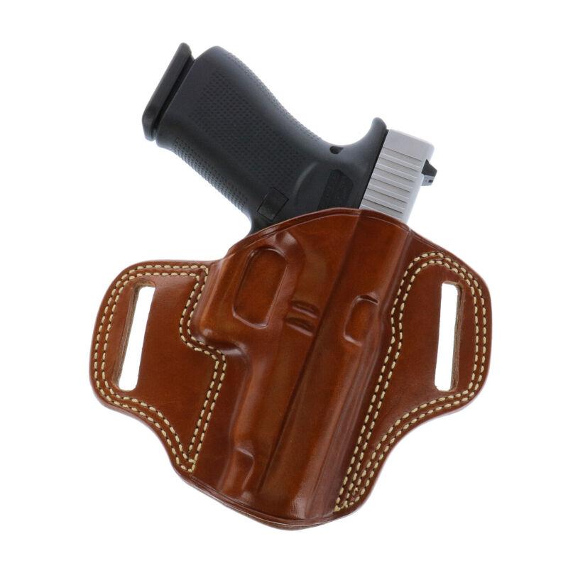 Galco Combat Master Belt Holster Glock 19 Gen 1-5 Tan Right Hand - CM226