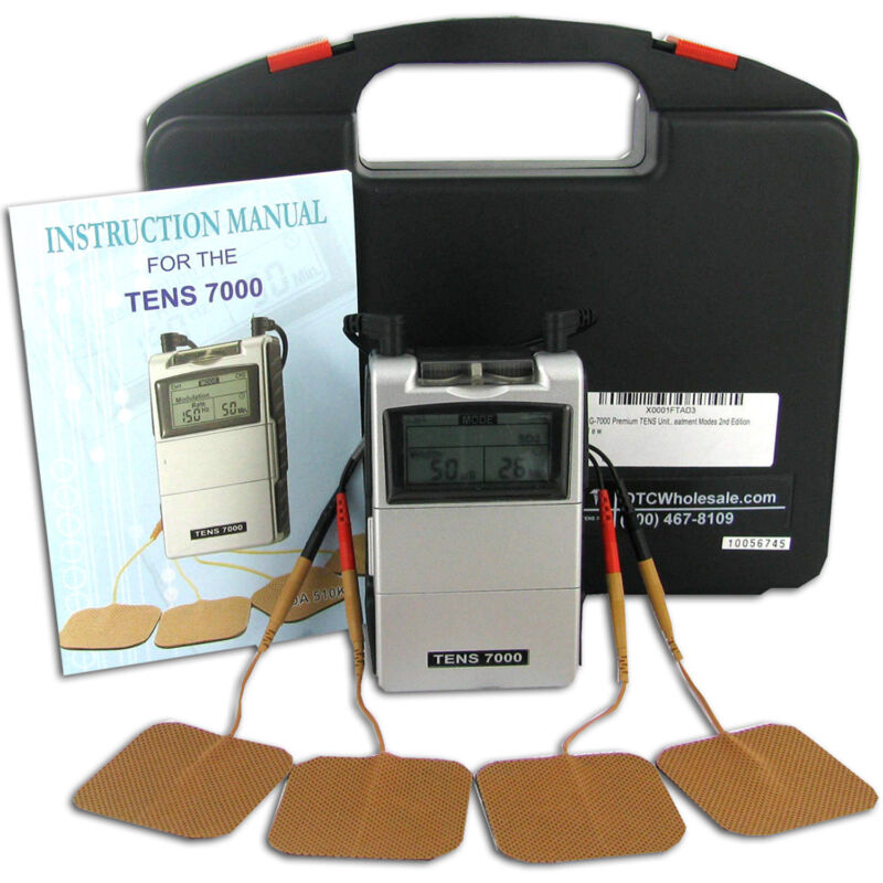 NEW TENS 7000 2nd Edition - Most Powerful unit (OTC) Muscle Stimulator Machine