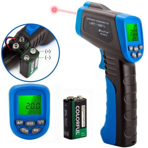 Digital IR Infrared Laser Gun Thermometer Temperature Heat Thermal Sensor Gauge