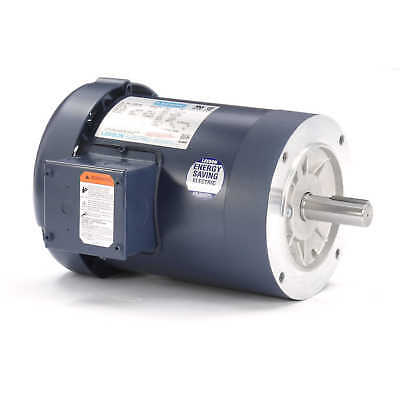Leeson Electric Motor 120097.00 34 Hp 1140 Rpm 3ph 208-230460 Volt 143tc Frame