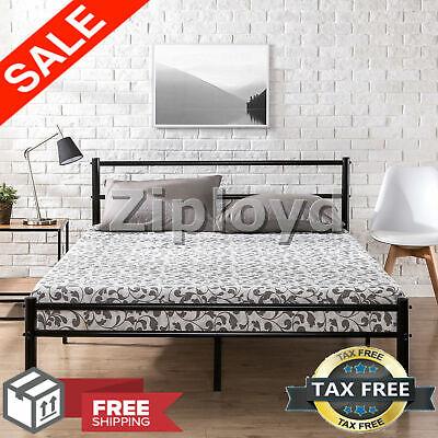 King Headboard Footboard - Zinus Metal Platform Bed Frame with Headboard and Footboard Premium King Size