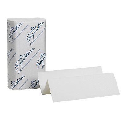 GP Signature 21000 White 2-Ply Premium Multifold Paper Towel, Full Case! New!!