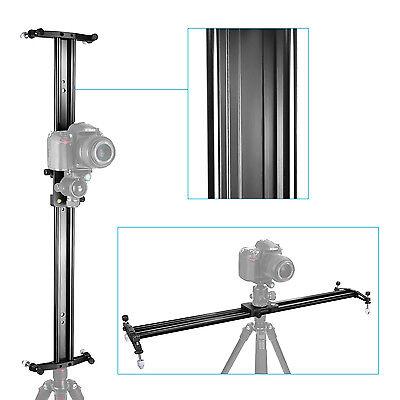 "Neewer Black 47"" Video Stabilization System DSLR Camera Track Dolly Slider"