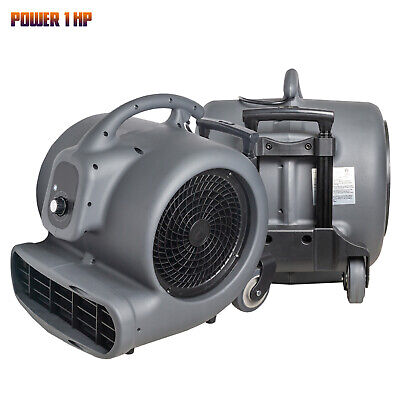 1 Hp Utility Fan Blower Air Mover For Cooling Ventilating Exhausting Drying