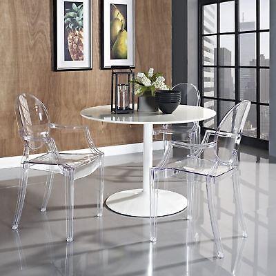Kartell Louis Ghost Chair ORIGINAL Philippe Starck Designer Armchair Crystal - Louis Ghost Arm Chair