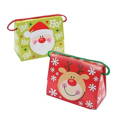 Christmas Tent Favor Boxes with Handle (12 Pack) Paper. 5