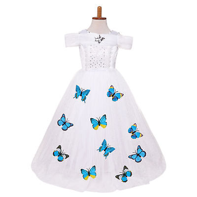 Kids Girl Princess Butterfly Dress for Girls Party Birthday Fancy Dress O69 - Fancy Dresses For Children