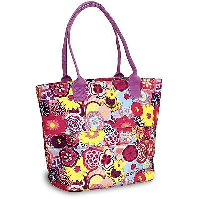 - NEW - J World New York Lola Lunch Tote, Poppy Pansy, One Size