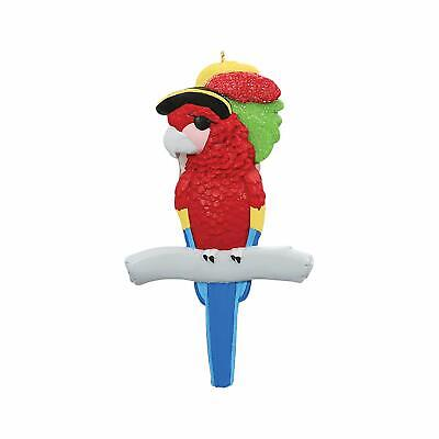 Personalized Pirate Parrot Christmas Tree Ornament ()