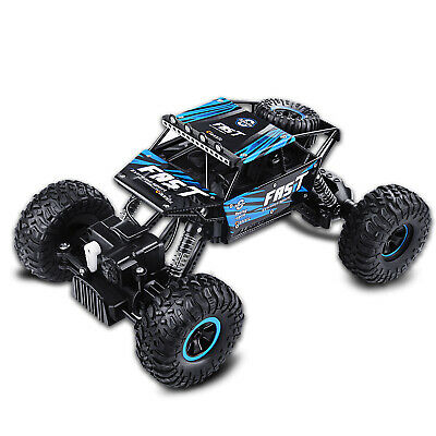 4WD Remote Control Car Terrain Off Road Vehicle Monster Truck RC Cars 2.4G Blue 4wd Off Road Truck