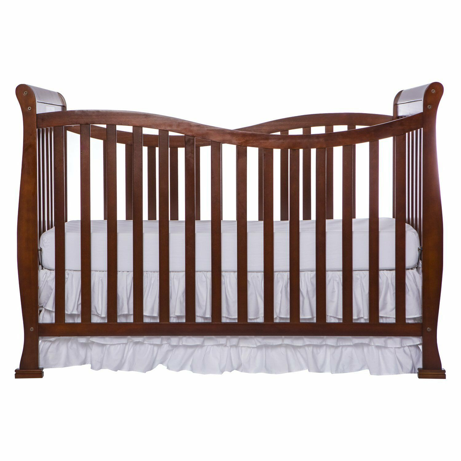 Dream On Me Violet 7 in 1 Convertible Life Style Crib Espresso
