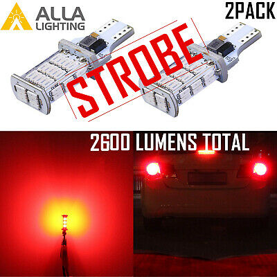 Legal STROBE FLASH LED 922 Center High Middle Stop Light Bulb,3rd Brake Lamp,RED](Cheap Shadow Boxes)