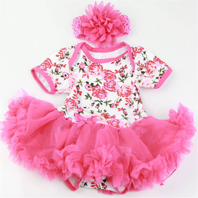 Reborn Baby Dolls Girl Clothes Set Fit for 20-23