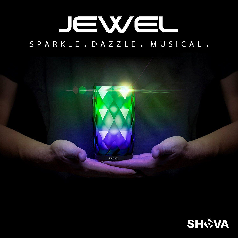 JEWEL Night Light Wireless Bluetooth Speaker up to 7 hours p