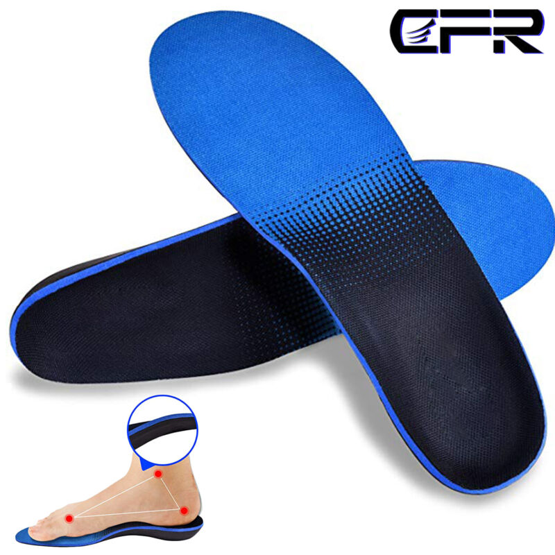 orthotic insoles plantar fasciitis arch support flat
