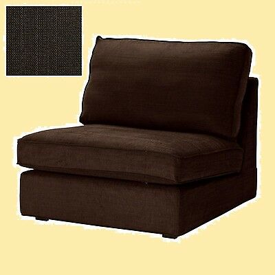 IKEA Kivik One-Seat Sofa Cover Tullinge Dark Brown Chair(Discount w/Mates)SEALED