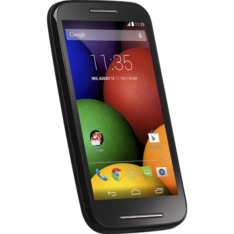 NEW Tracfone Motorola Moto E Android Cell Smart Phone W