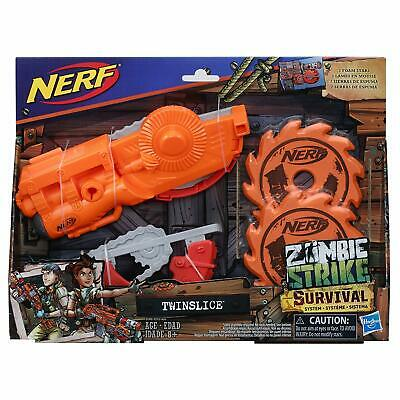 Nerf Zombie Strike Survival System TwinslicRail Attachment Hasbro Kids Toy Gun