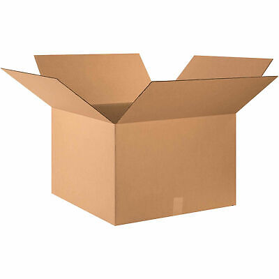 24 X 24 X 16 Cardboard Corrugated Boxes 65 Lbs Capacity 200ect-32 Lot Of