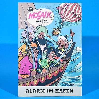 Mosaik 221 | Digedags Hannes Hegen Originalheft | DDR | Sammlung original WL
