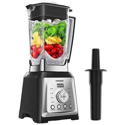 Homgeek 1450W 68oz Countertop Blender Juice Smoothie Shake Blender Maker BPAFree