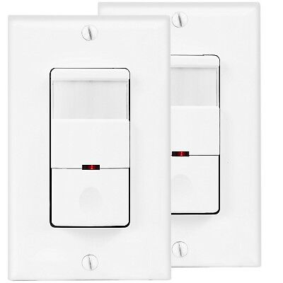 Motion Sensor Light Switch Passive Infrared Wall Occupancy Detector
