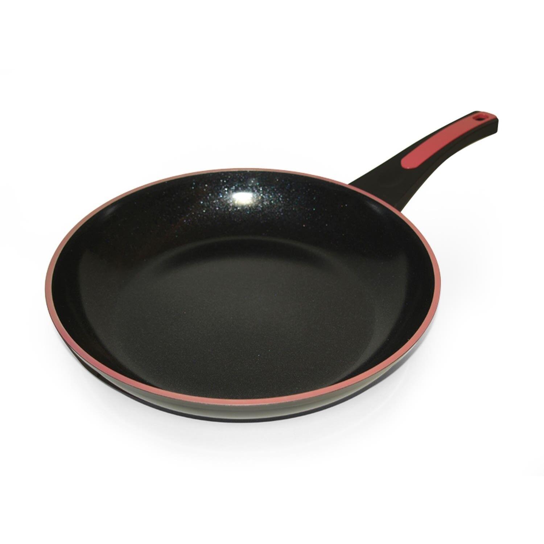 Keramik Pfanne 28cm Induktion Bratpfanne Ceramik antihaft Schmorpfanne fettfrei