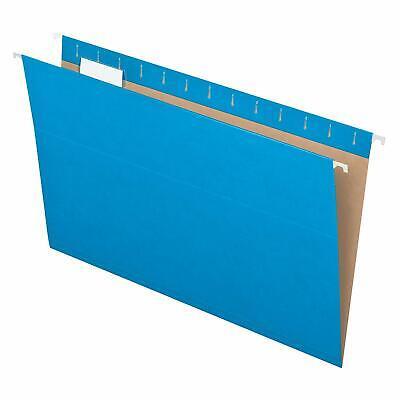 Pendaflex 81623 Hanging Folders Legal Size Blue Pack Of 25 81623 Mdsb-p1