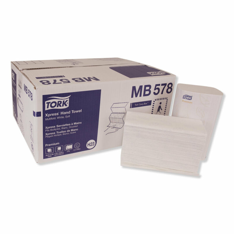 Tork Premium Soft Xpress 3-Panel Multifold Hand Towel MB578