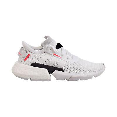 Adidas POD-S3.1 J Big Kids' Shoes Foortwear White-Footwear-Shock Red db2875