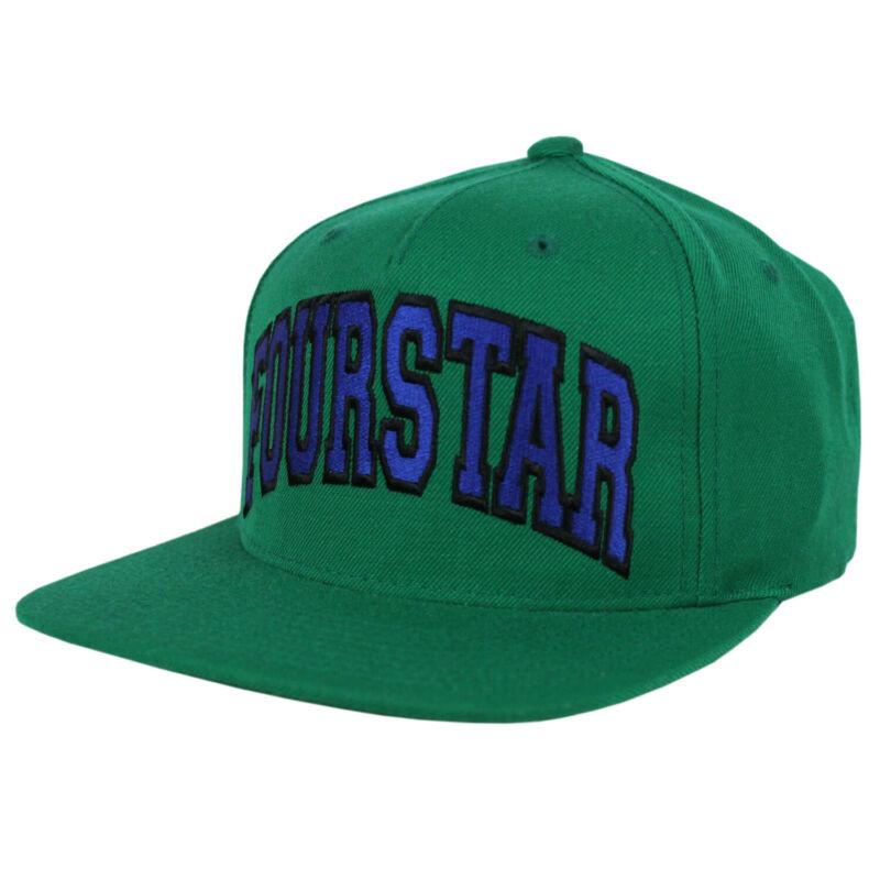 FOURSTAR Skateboard Hat BOLD GREEN/BLUE SNAPBACK