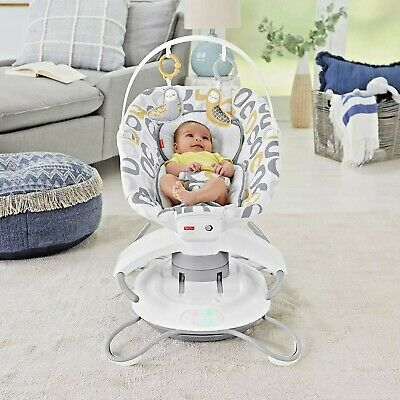 Fisher-Price 2-in-1 Baby Swing Deluxe Soothe 'n Play Glider