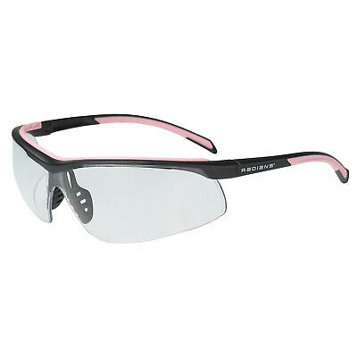 Radians T71 Pinkblack Clear Lens Safety Glasses Womens Shooting Z87.1
